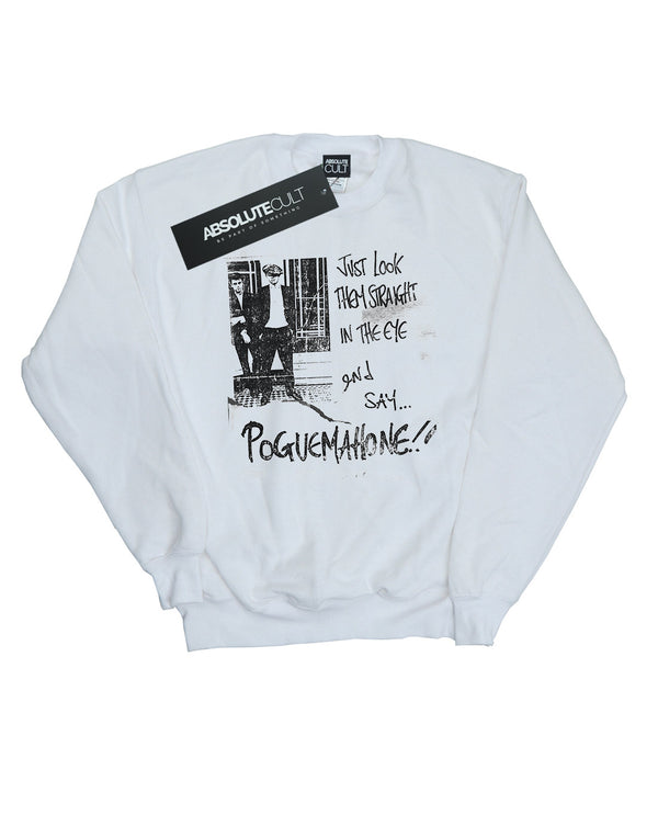 The Pogues Boys Straight In The Eye Sweatshirt