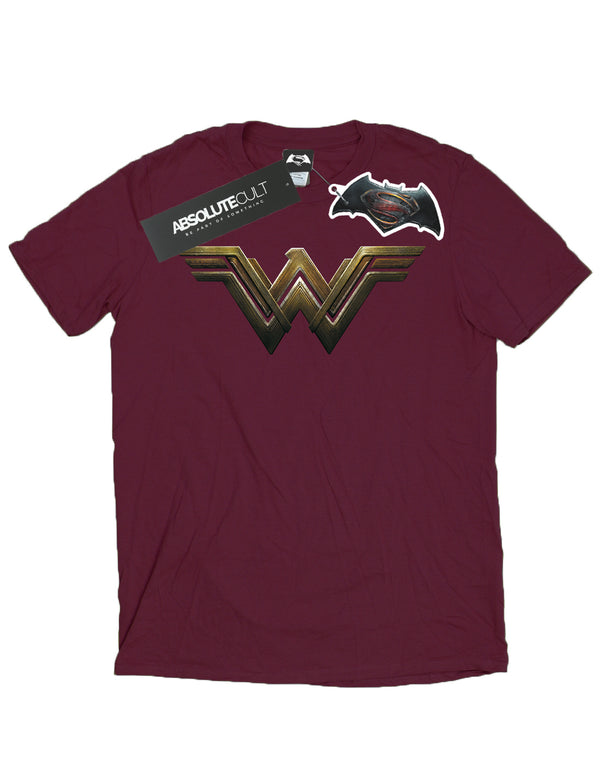 DC Comics Boys Wonder Woman Logo T-Shirt | Absolute Cult