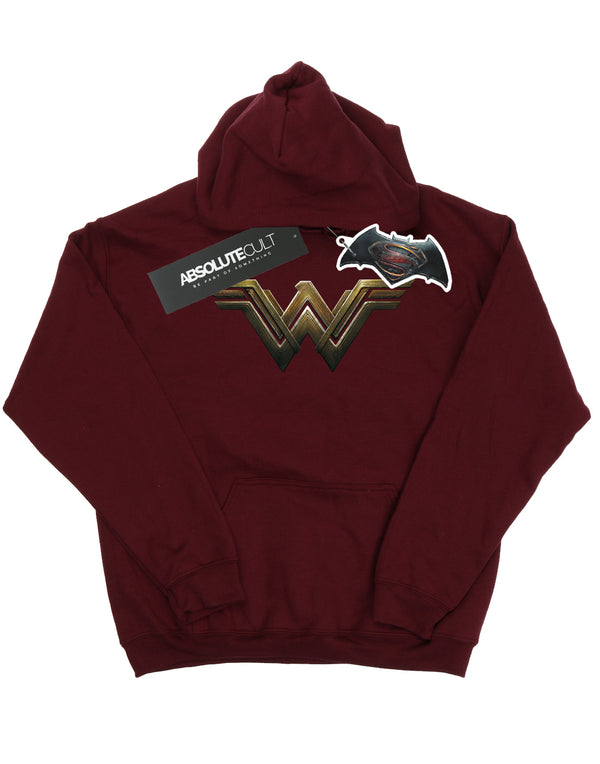 DC Comics Girls Wonder Woman Logo Hoodie