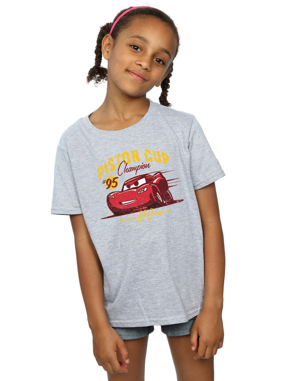 Disney Girls Cars Piston Cup Champion T-Shirt