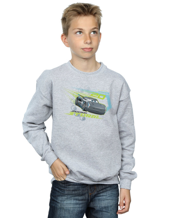 Disney Boys Cars Jackson Storm Sweatshirt | Absolute Cult