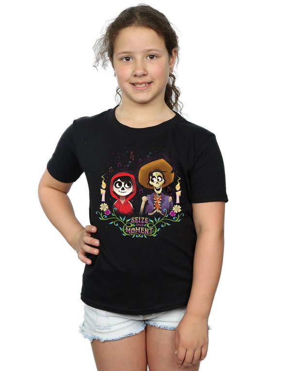 Disney Girls Coco Miguel And Hector T-Shirt