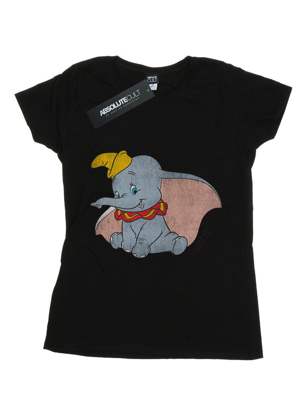 Disney Women's Dumbo Classic Dumbo Boyfriend Fit T-Shirt | Absolute Cult