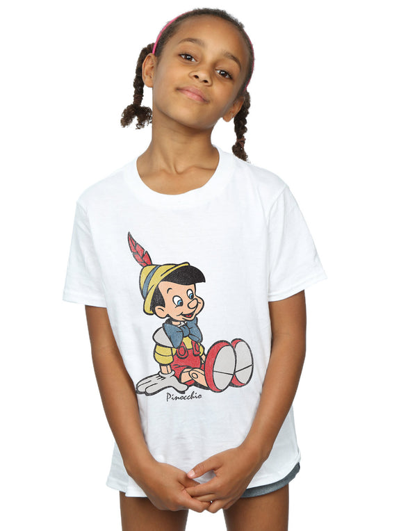 Disney Girls Pinocchio Classic Pinocchio T-Shirt | Absolute Cult