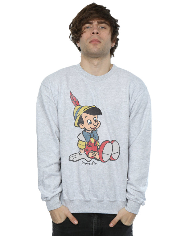 Disney Men's Pinocchio Classic Pinocchio Sweatshirt | Absolute Cult