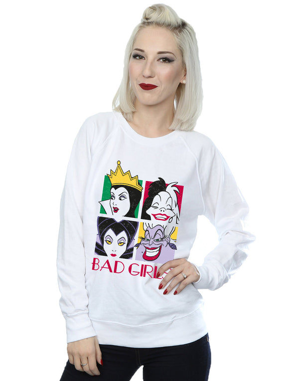 Disney Women's Villains Bad Girls Sweatshirt