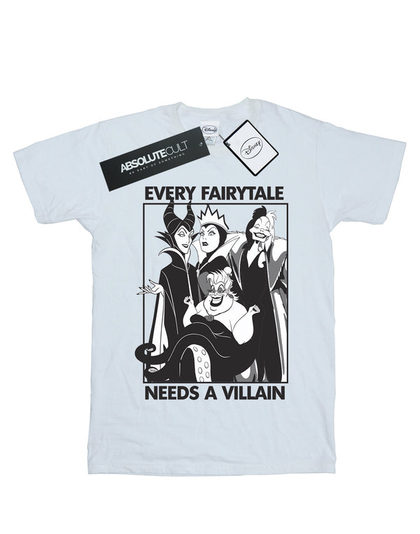 Disney Men's Every Fairy Tale Needs A Villain T-Shirt