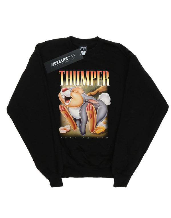 Disney Girls Bambi Thumper Montage Sweatshirt
