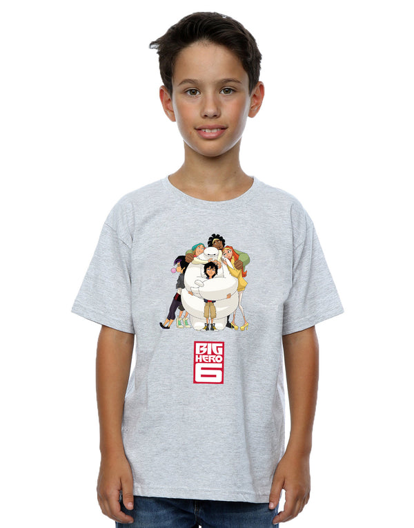 Disney Boys Big Hero 6 Baymax Hug T-Shirt | Absolute Cult