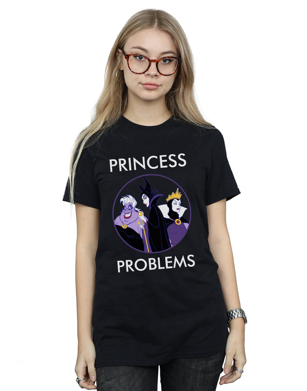 Disney Women's Villains Princess Headaches Boyfriend Fit T-Shirt | Absolute Cult