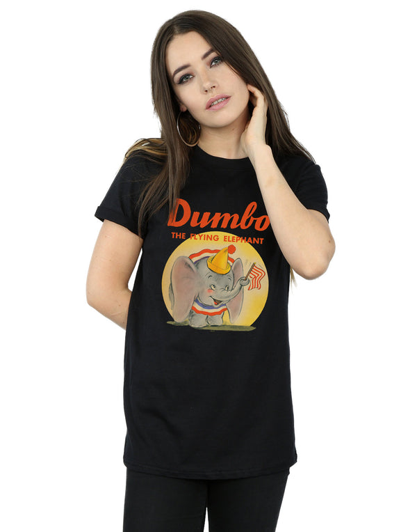 Disney Women's Dumbo Flying Elephant Boyfriend Fit T-Shirt | Absolute Cult