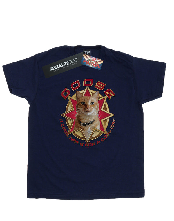 Marvel Men's Captain Marvel Goose Cool Cat T-Shirt | Absolute Cult