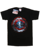 Marvel Men's Captain America Civil War Hex Shield T-Shirt | Absolute Cult