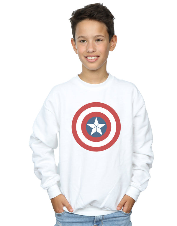 Marvel Boys Captain America Civil War Shield Sweatshirt