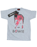 David Bowie Boys Aladdin Sane Distressed T-Shirt | Absolute Cult