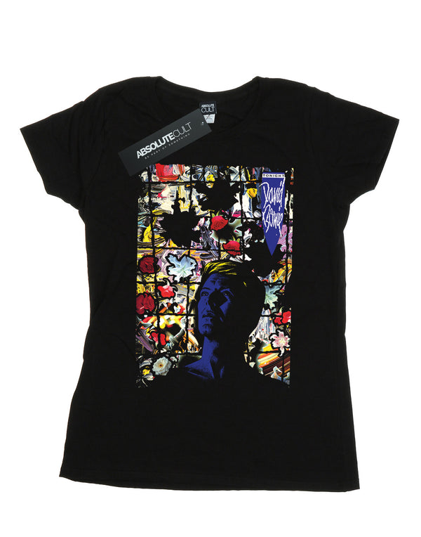 David Bowie Women's Tonight Album Cover T-Shirt | Absolute Cult