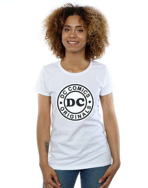 DC Comics Women's DC Originals Logo T-Shirt