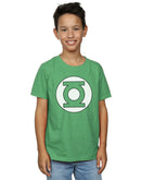 DC Comics Boys Green Lantern Logo T-Shirt | Absolute Cult