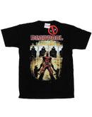 Marvel Men's Deadpool Target Practice T-Shirt