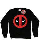 Marvel Women's Deadpool Clean Logo Sweatshirt