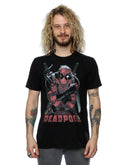 Marvel Men's Deadpool Ready For Action T-Shirt