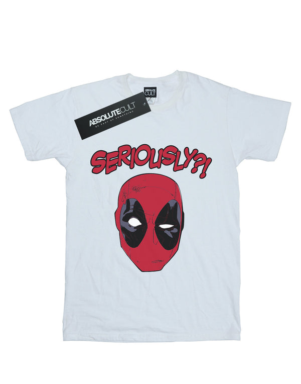 Marvel Men's Deadpool Seriously T-Shirt