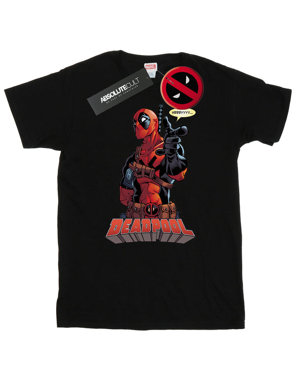 Marvel Men's Deadpool Hey You T-Shirt