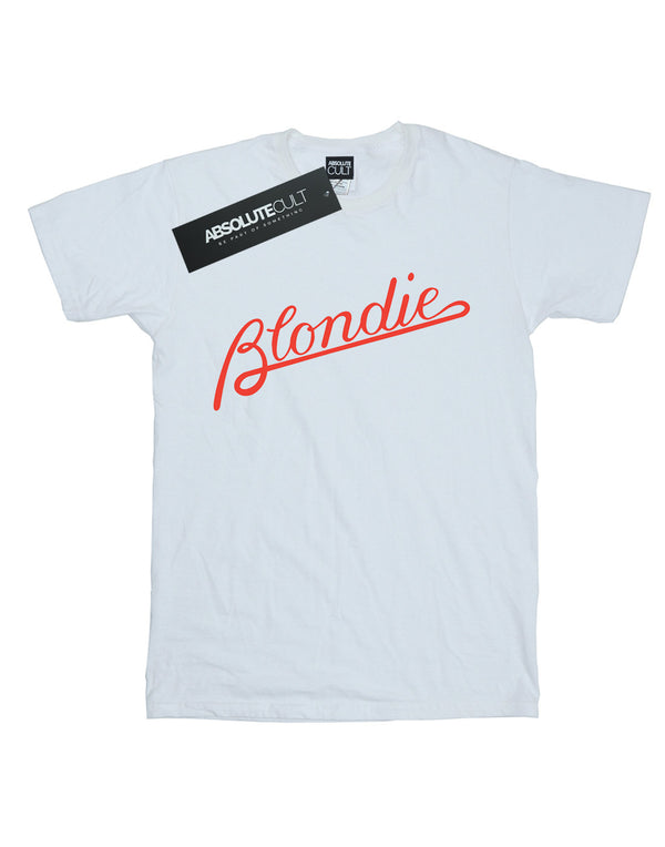 Blondie Men's Lines Logo T-Shirt