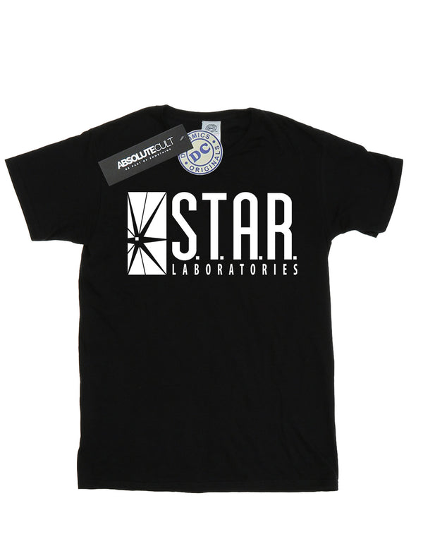 DC Comics Boys The Flash Star Labs T-Shirt | Absolute Cult