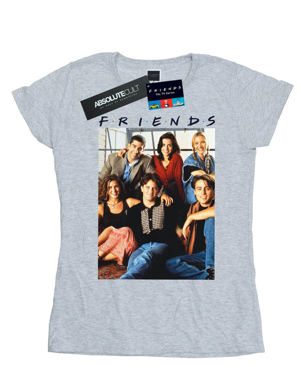 Friends Women's Group Photo Window T-Shirt