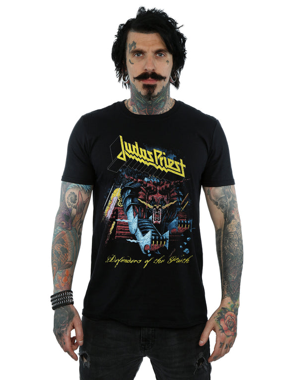 Judas Priest Men's Defender Of Faith T-Shirt | Absolute Cult