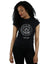 Marvel Women's Guardians Of The Galaxy Metallic Seal T-Shirt