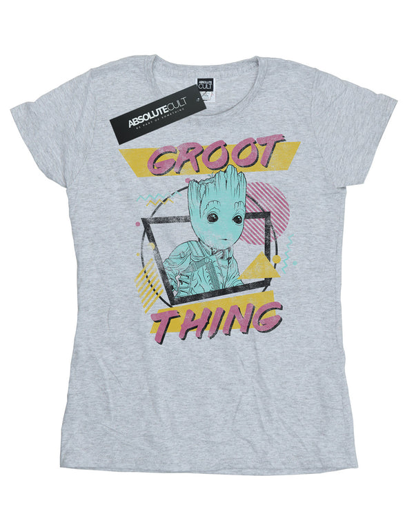 Marvel Women's Guardians Of The Galaxy Vol. 2 Groot Thing T-Shirt