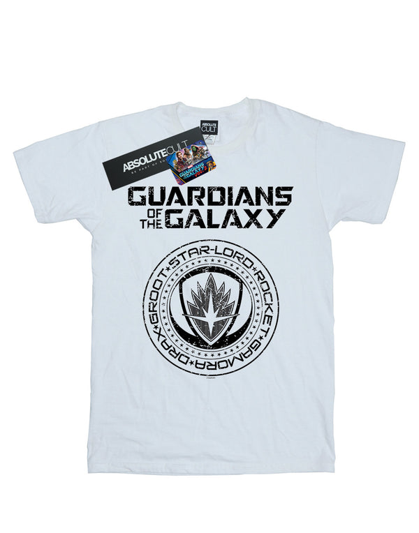 Marvel Men's Guardians Of The Galaxy Vol. 2 Distressed Seal T-Shirt