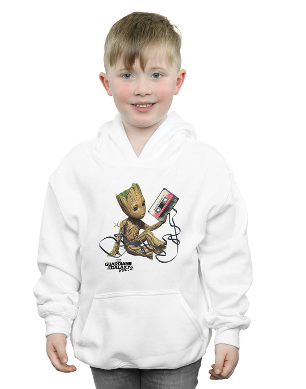 Marvel Boys Guardians Of The Galaxy Groot Tape Hoodie | Absolute Cult