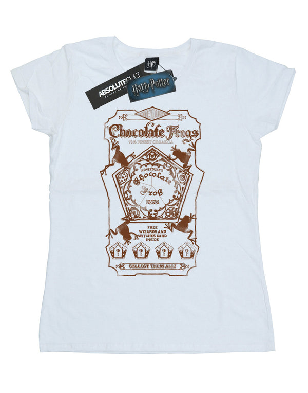 Harry Potter Women's Chocolate Frogs Mono Label T-Shirt