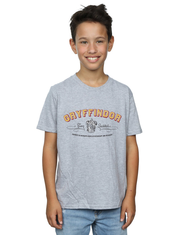 Harry Potter Boys Gryffindor Team Quidditch T-Shirt