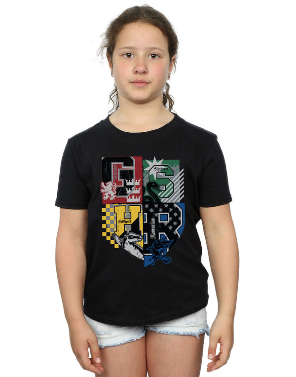Harry Potter Girls Hogwarts Varsity T-Shirt