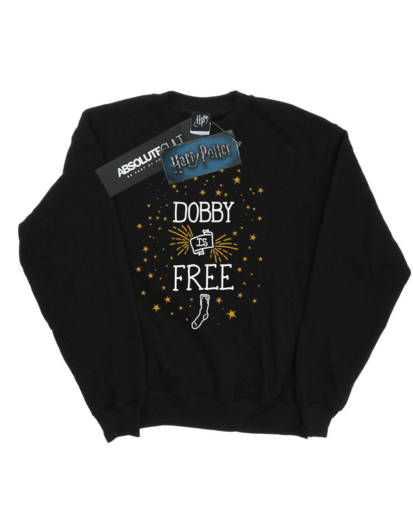 Harry Potter Boys Dobby Is Free Sweatshirt