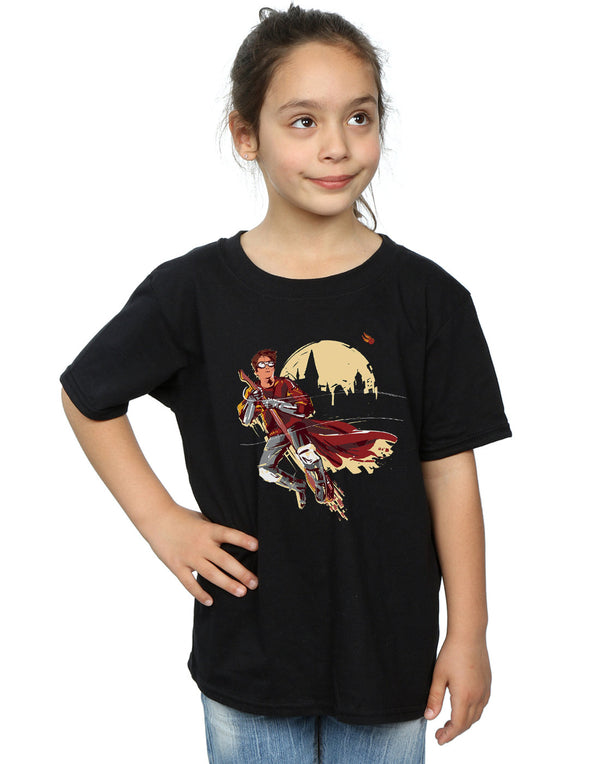 Harry Potter Girls Quidditch Seeeker T-Shirt