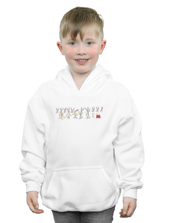 Looney Tunes Boys Bugs Bunny Colour Code Hoodie