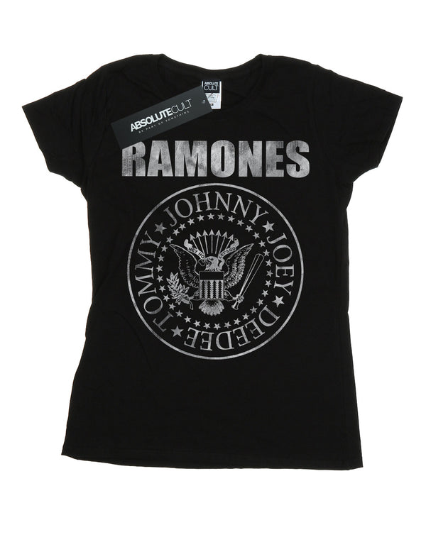 Ramones Women's Distressed Seal T-Shirt