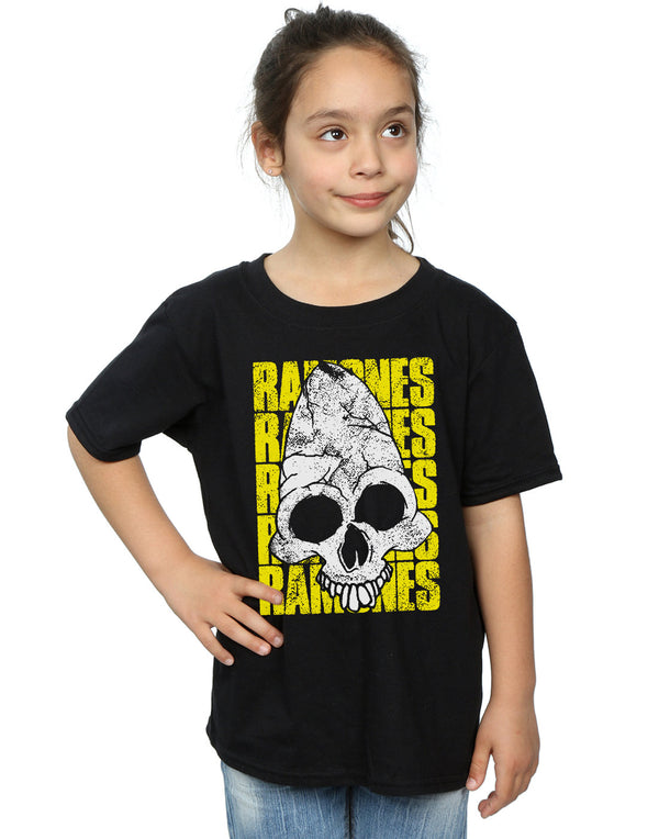 Ramones Girls Pinhead Distressed T-Shirt | Absolute Cult