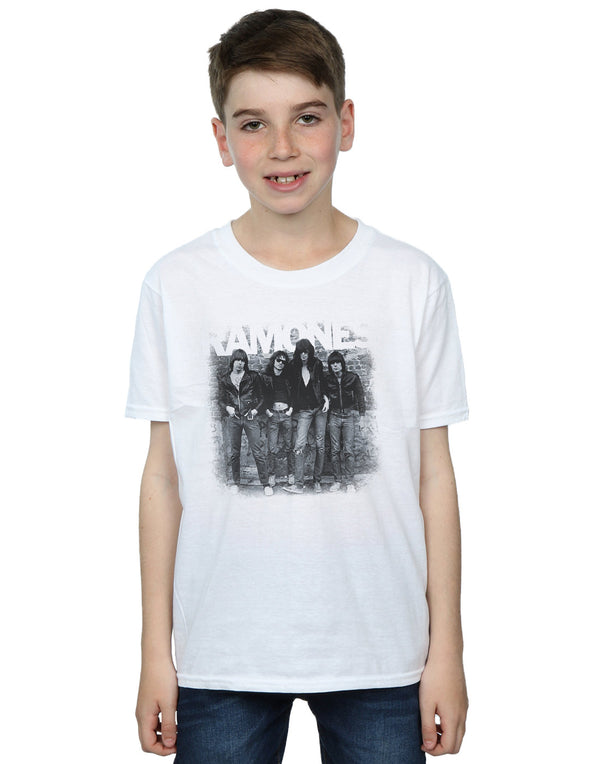 Ramones Boys First Album Faded T-Shirt
