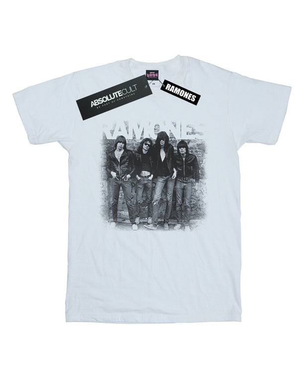 Ramones Women's First Album Faded Boyfriend Fit T-Shirt | Absolute Cult