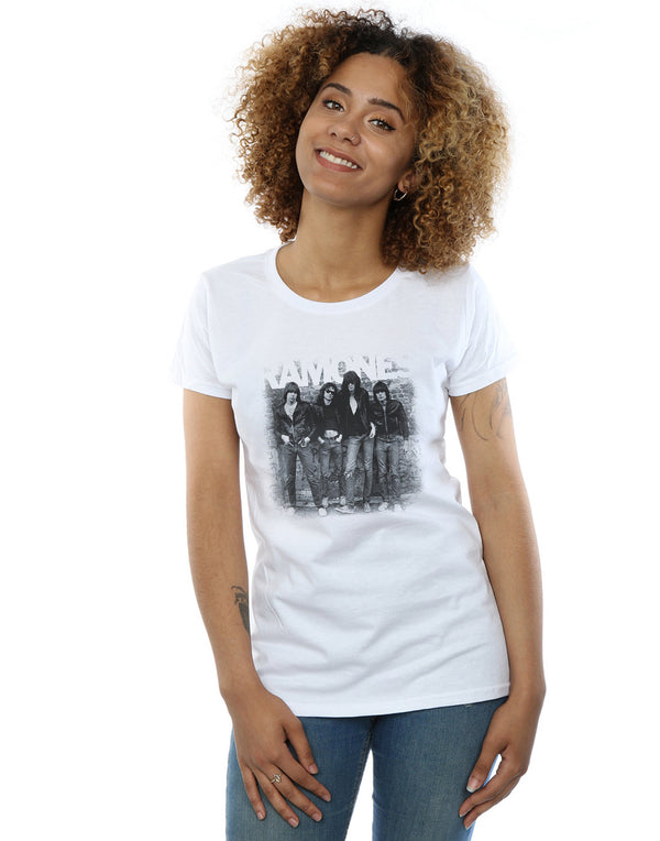 Ramones Women's First Album Faded T-Shirt | Absolute Cult