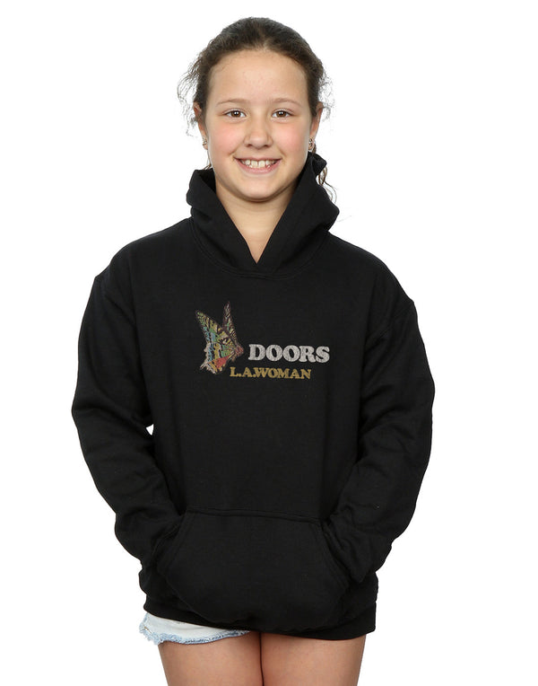 The Doors Girls LA Woman Butterfly Hoodie