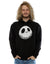 Disney Men's Nightmare Before Christmas Jack Cracked Face Hoodie