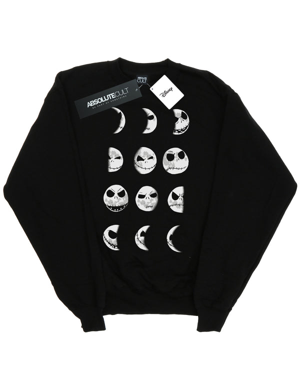 Disney Women's Nightmare Before Christmas Jack Moon Sweatshirt