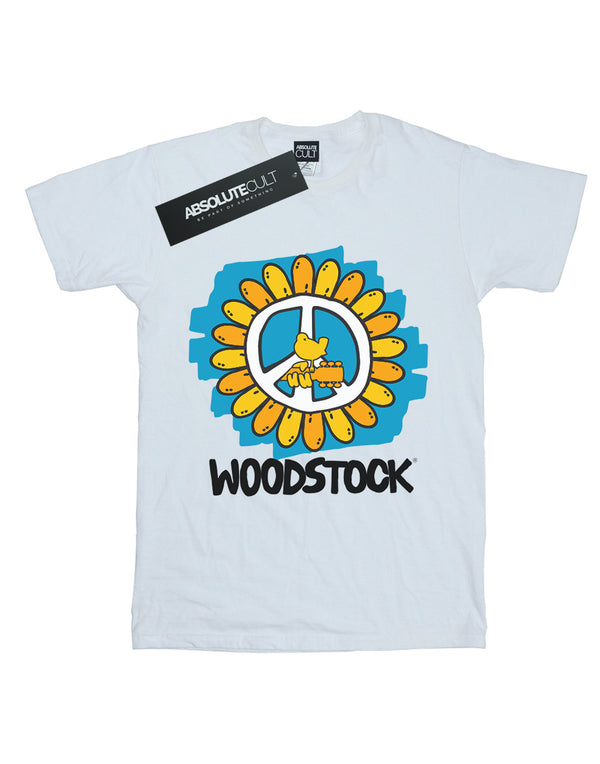 Woodstock Men's Flower Peace T-Shirt
